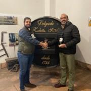 José Federico Carvajal, director general de Delgado Zuleta y Mario Alonso, propietario de Copaboca