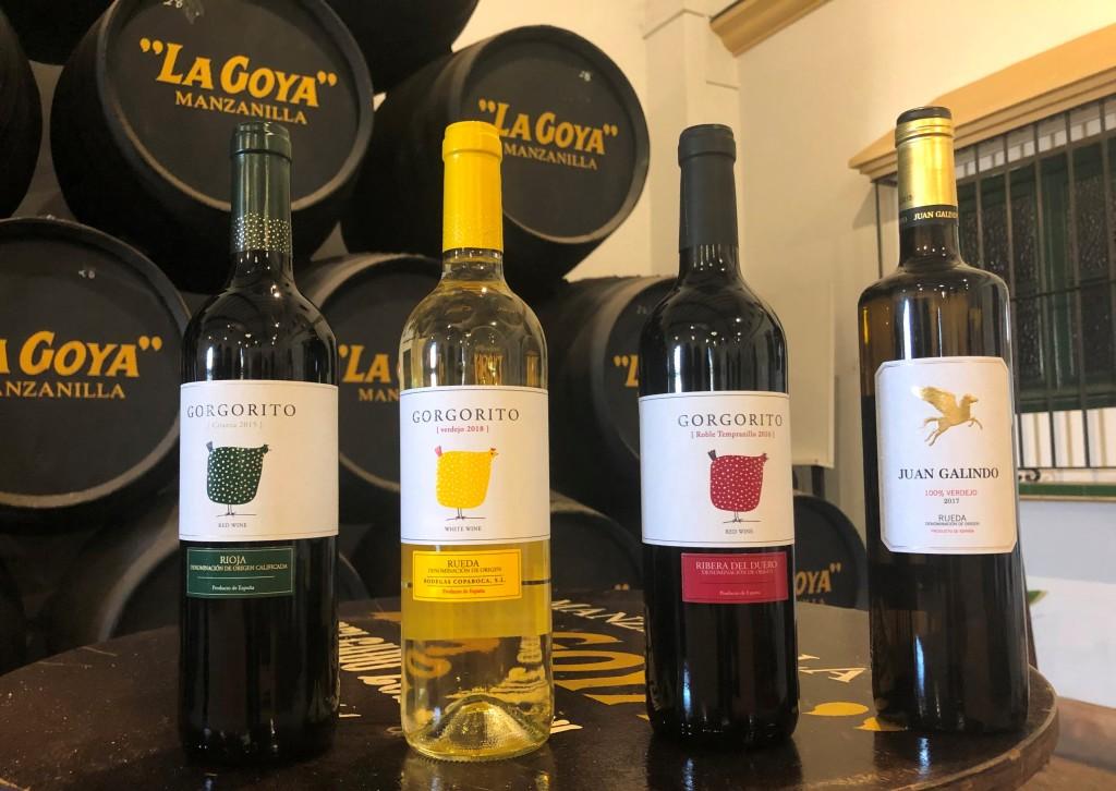 Nuevos vinos distribuidos por Delgado Zuleta