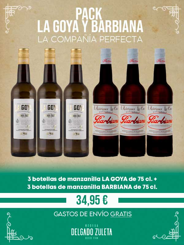 PACK LA GOYA-BARBIANA